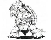 """Первый рисунок из """"Черепашек-ниндзя"""" продадут за $2 млн"""
