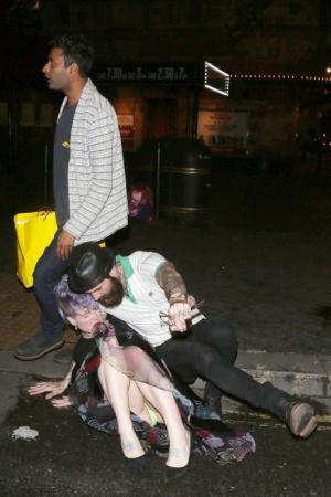 Келли Осборн после вечеринки