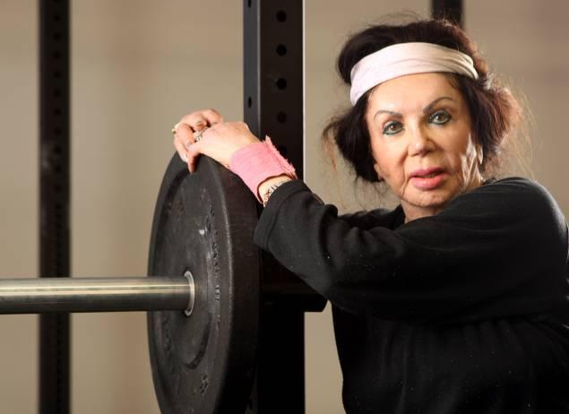 Мама Сильвестра Сталлоне увлеклась тяжелой атлетикой