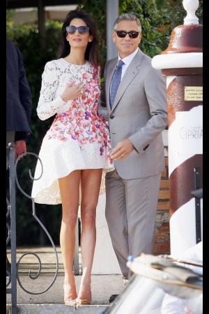 Удивительный стиль новоиспеченной жены Джорджа Клуни
