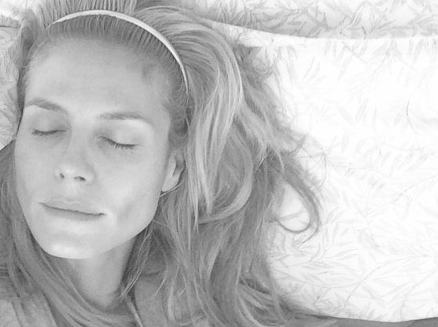 Хайди Клум продемонстрировала лицо без макияжа