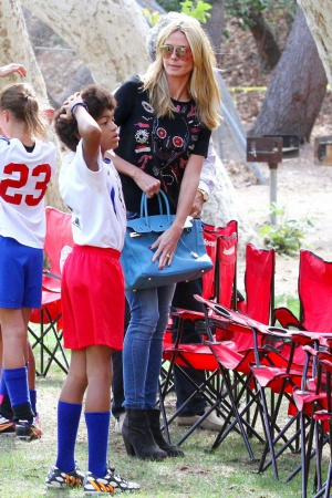 Хайди Клум показала своих очаровательных детей