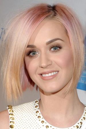 Эволюция цвета волос Кэти Перри