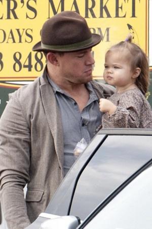 Заботливый отец Ченнинг Татум показал дочь
