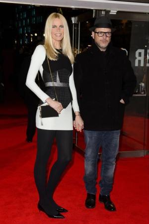 Клаудия Шиффер с мужем на премьере его нового фильма