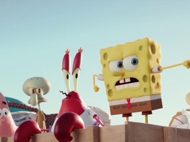 """Полнометражный мультфильм """"Губка Боб: Жизнь на суше"""". Губка Боб-Квадратные Штаны должен спасти свой глубоководный мир, но для этого ему вместе с друзьями придется выбраться на сушу."""