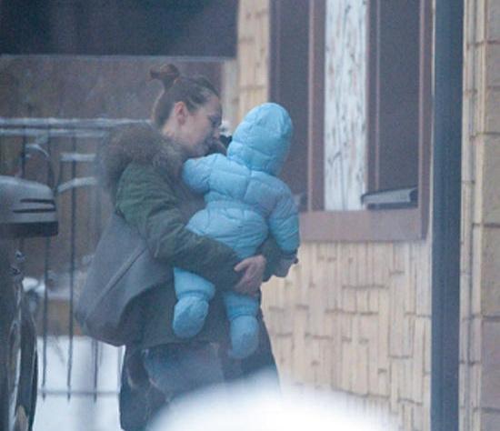 В Сети появилось первое фото младшего сына Меладзе и Джанабаевой