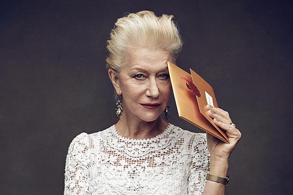 Блистательная Хелен Миррен на обложке журнала