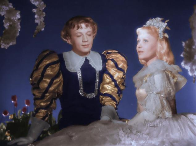 Янина Жеймо в советской экранизации 1947 года