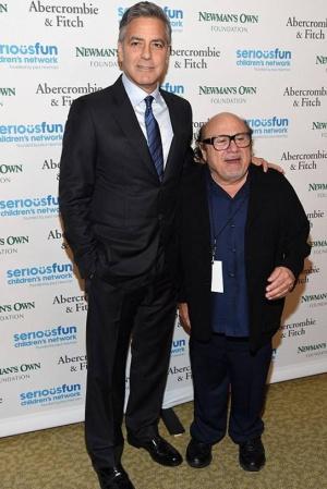 Голливудские звезды на благотворительном вечере