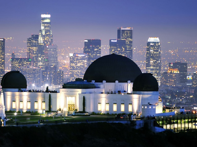 Обсерватория Гриффита. Здесь можно посмотреть на звездное небо из телескопа. Полюбоваться панорамой города Лос-Анджелеса