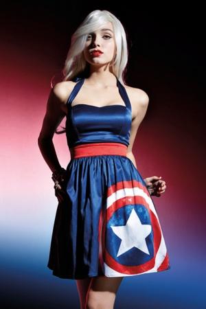Представлена линия одежды по вселенной Marvel