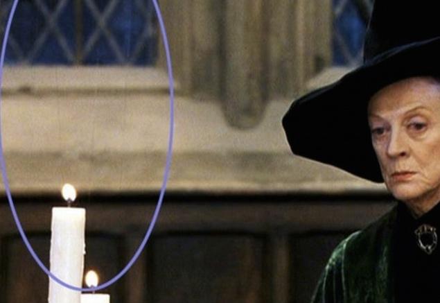 """""""Гарри Поттер"""". И вовсе эти свечи не парят в воздухе по волшебству — они всего лишь подвешены на леске"""