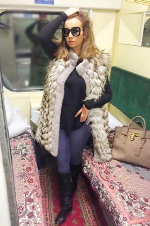 Анфиса Чехова приехала в Киев