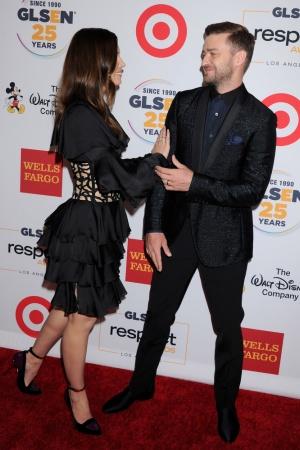 Джастин Тимберлэйк и Джессика Бил продемонстрировали любовь друг к другу