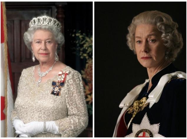 Елизавета II и Хелен Миррен,