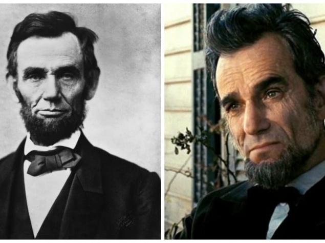 Авраам Линкольн и Дэниел Дэй-Льюис,