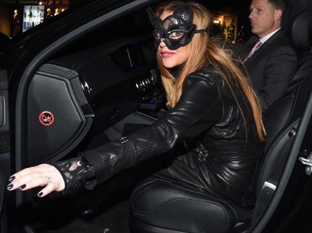 Линдси Лохан основательно подготовилась к празднованию Хеллоуина