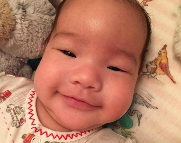 Люси Лью показала фото своего малыша