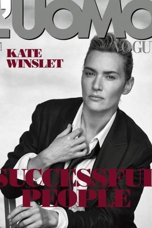 Кейт Уинслет примерила на себя мужские образы