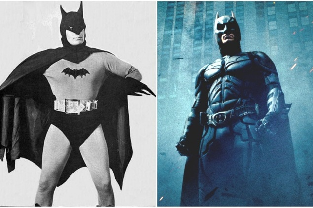 Бэтмен. Брюс Уэйн. 1966 и 2008