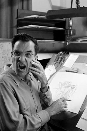 Диснеевские аниматоры рисуют персонажей с себя