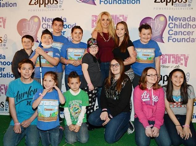 Бритни Спирс занялась благотворительностью