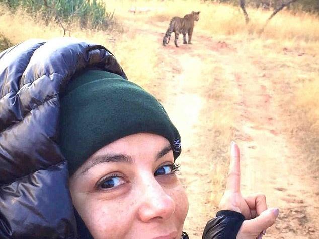 Ева Лонгория шикарно отдыхает в Индии