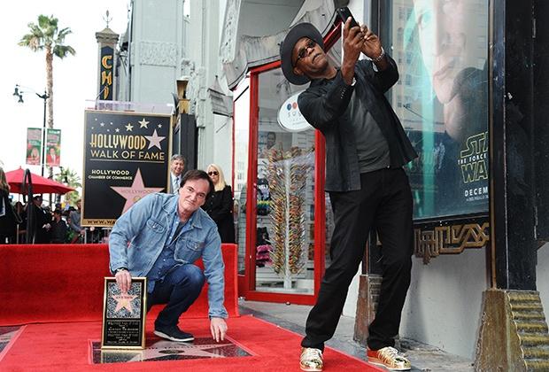 Тарантино получил звезду на голливудской