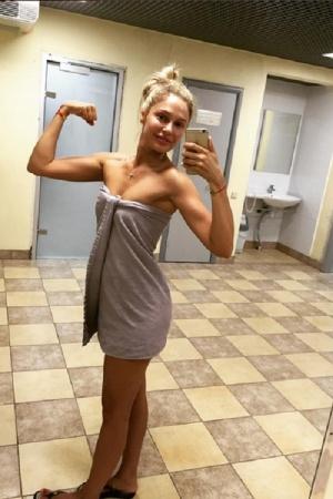 Наталья Рудова поделилась снимком после душа