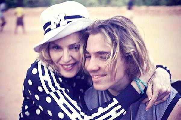 Мадонна поделилась новым фото сына