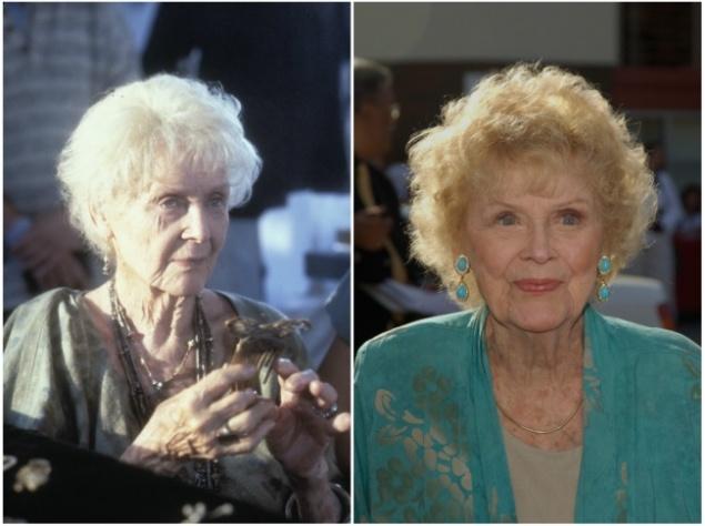Глория Стюарт — Роза в старости