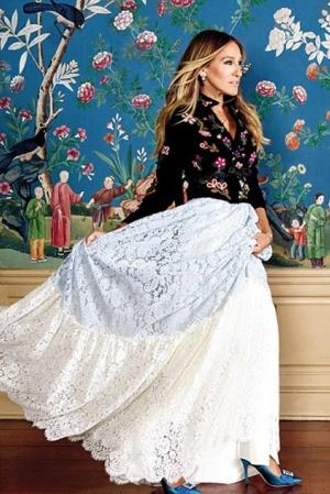 Сара Джессика Паркер удивила новыми роскошными платьями