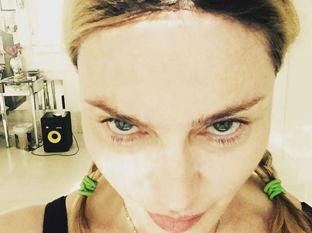 Мадонна поделилась очередным смелым фото
