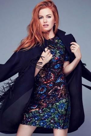 Айла Фишер стала звездой обложки Glamour