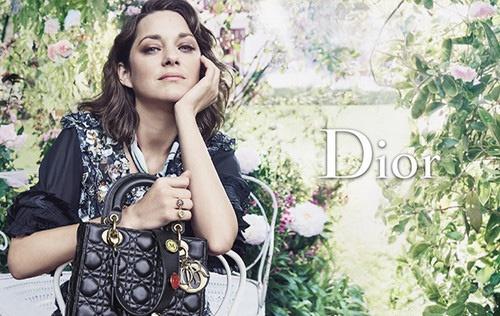 Марион Котийяр снялась для Dior