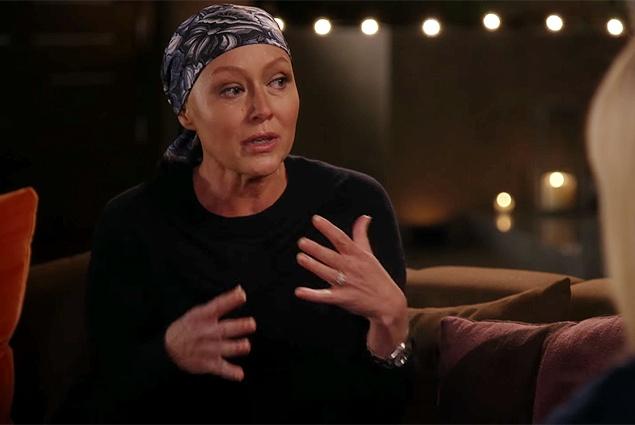 Шэннен Доэрти рассказала о борьбе с раком
