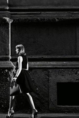 Джессика Честейн снялась в новой рекламной кампании Prada 2017