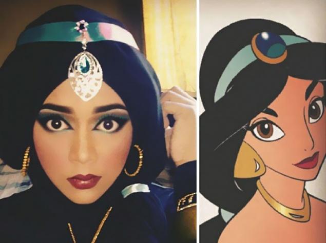 Дисней в хиджабе: сказочные перевоплощения талантливой визажистки Мобильная версия NewsRbk.ru