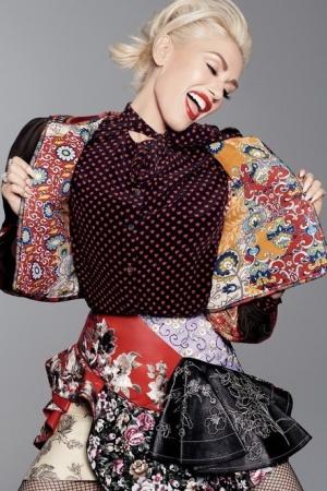 Гвен Стефани украсила обложку декабрьского Glamour