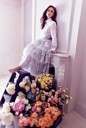 Обворожительная Кира Найтли для Harper's Bazaar UK
