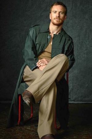Майкл Фассбендер снялся для обложки британского журнала