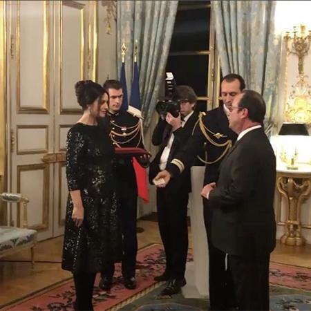 Изысканная Моника Беллуччи получила почетный орден