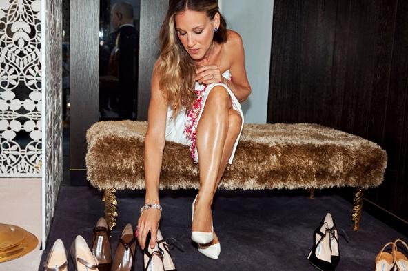 Сара Джессика Паркер будет торговать обувью в Америке