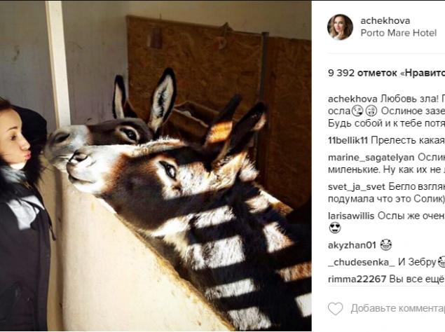 Анфиса Чехова опубликовала потрясающее фото