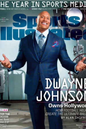 Дуэйн Джонсон появился на обложке журнала Sports Illustrated