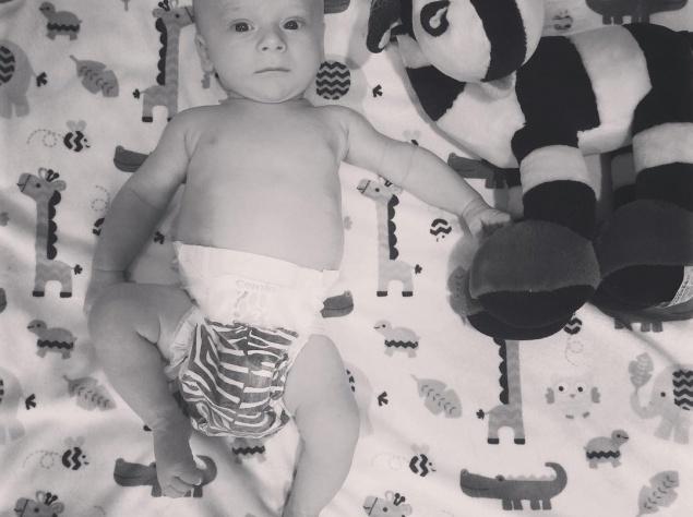 Дочь Снежаны Егоровой показала полуторамесячного сына