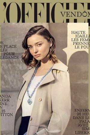 Миранда Керр в очередной раз украсила обложку модного глянца