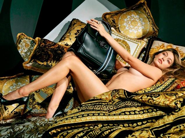 Соблазнительная Джиджи Хадид снялась для Versace