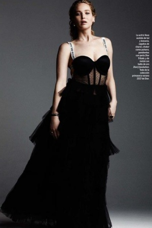 Очаровательная Дженнифер Лоуренс снялась в новом фотосете